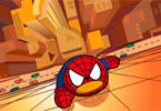 qq pinguino spiderman
