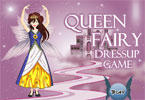 Queen Fairy Dress Up Game