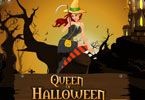 koningin van Halloween Dress Up