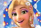 rapunzel bruiloft make-up