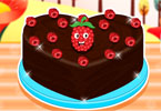 Raspberry Chocolate Cakes