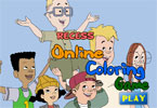 Recess Online Coloring Game