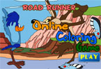 Road Runner Online Coloring Page