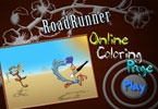Road Runneronline Coloring Page