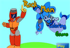 Rock Man Online Coloring Game