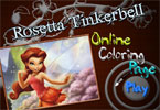 Rosetta Tinkerbell Online Coloring Page