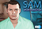 Sam Worthington Schminke