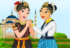 Saman Dance Dressup