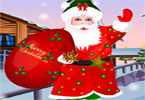 Santa Clause dress up