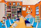 schoolbibliotheek room decor