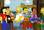 Simpson Online Coloring Game