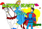 Sleeping Beauty Online Coloring Game
