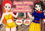 Snow White Inspired Makeover