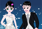 Snowy Couple Dressup