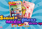 Social Media Phone Dress Up