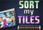 Sort My Tiles Królik Bugs i lola
