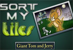 Sort My Tiles Giant Tom and Jerry