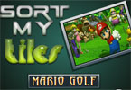 Sort My Tiles Mario Golf