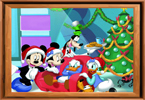 Ordenar Mi Baldosas Mickey's Navidad