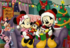Sort My Tiles Minnie at Christmas