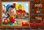 Sort My Tiles Noddy and Friends