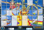 Sort My Tiles Pikachu Rainbow Ride