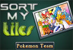Sort My Tiles equipe pokemon
