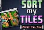 Sort My Tiles Popeye i oliwy