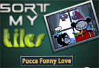 Sortera mina plattor Pucca Funny Krlek