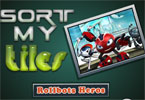 Sort My Tiles Rollbots Heroes