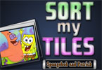 Sort My Tiles Spongebob and Patrick