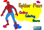 Spider Man Online Coloring Game