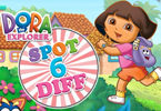 Dora Games - Spot 6 Diff 