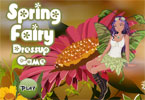 Spring Fairy Dress Up Game
