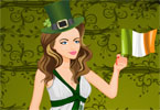 st patrick fille habiller