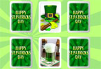 st patricks da tarjetas coincidir