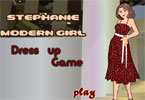 Stephanie Modern Girl Dress Up Game