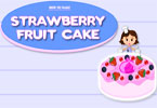 Strawberry Fruit Cake