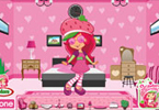 Strawberry Shortcake versiering van de zaal