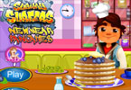 Subway Surfer New Year Pancakes