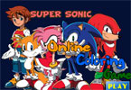 Super Sonic Online Coloring Game