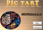 Superman pic tarte