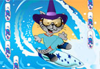 Surfer Cat Dressup