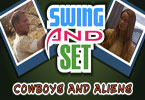 Swing und setzen Cowboys and Aliens