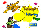 Talespin Colouring Page