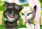 Talking Tom en Angela Wedding Party