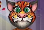 Talking Tom visage tatouage