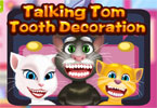 talking tom tand decoratie