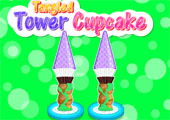 Tangled Tower Cupcake