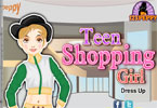 Teen Shopping Girl Dress Up